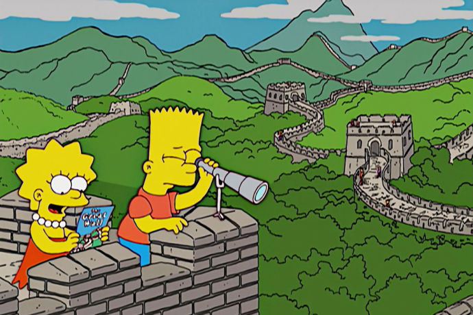 [W017b] The Simpsons Go To China_1_pic