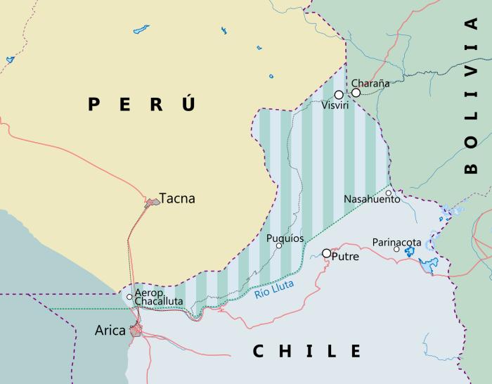 Bolivia Chile Dispute