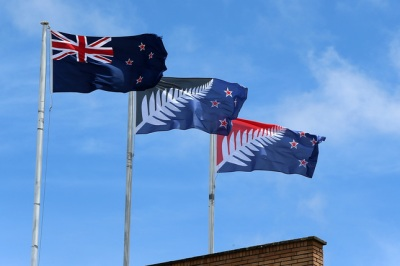 New Zealand Votes On Flag Referendum