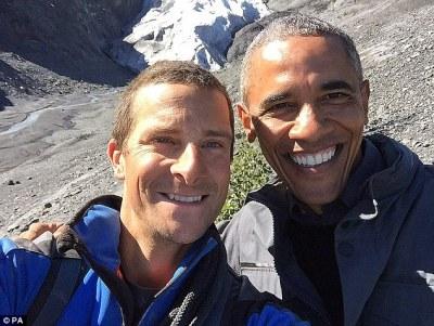 Obama and Grylls