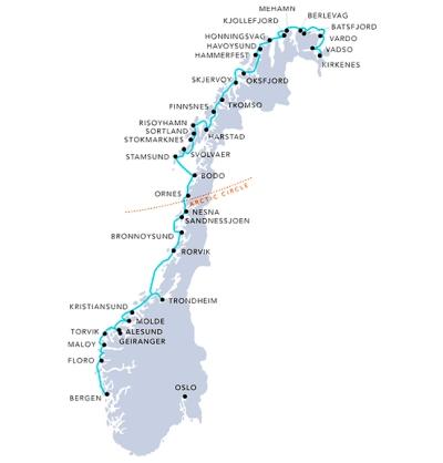 hurtigruten-route-map