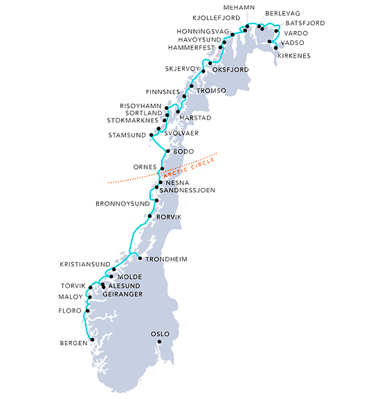 hurtigruten-route-map