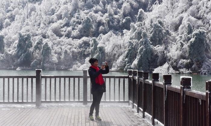 Snowy Asia