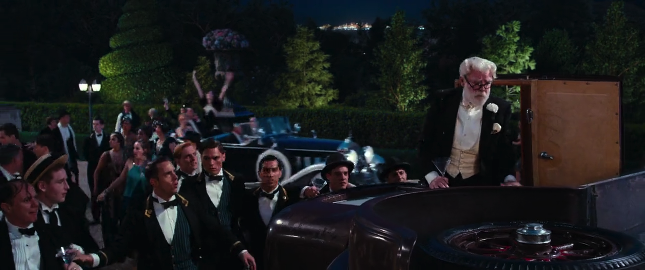 the car accident in the great gatsby