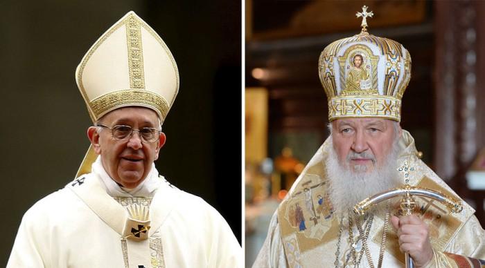 Francis and Kirill