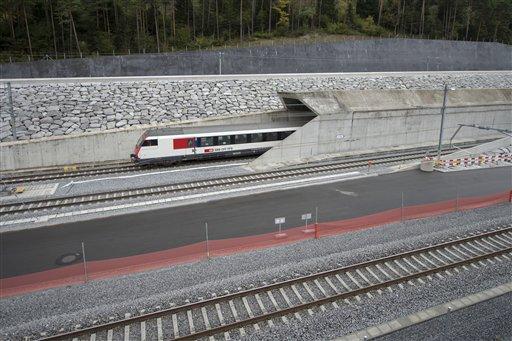 Switzerland Railway Tunnel