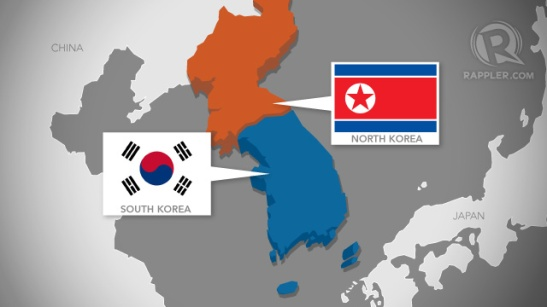 north-south-korea-map-rappler