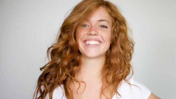 Natural Redheaded Woman